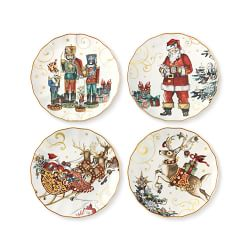 Twas The Night Before Christmas Salad Plates
