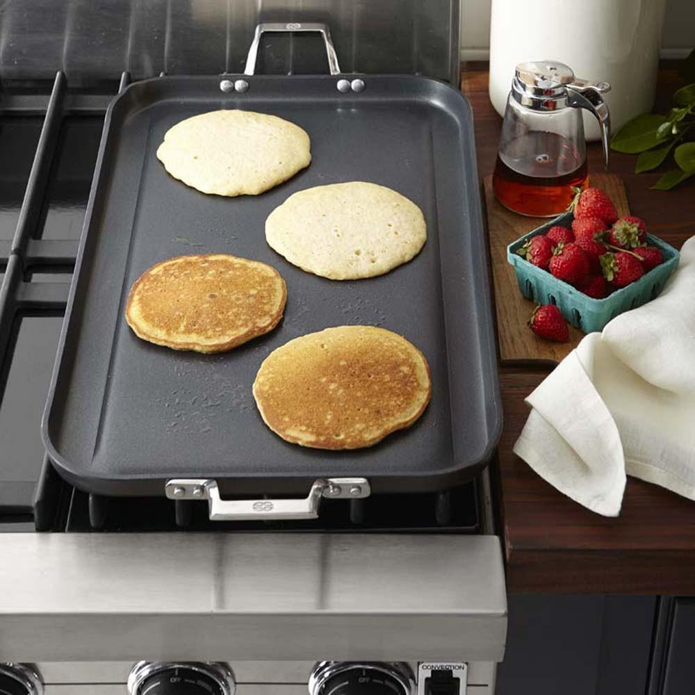 Calphalon Elite Nonstick Double Griddle with Rack