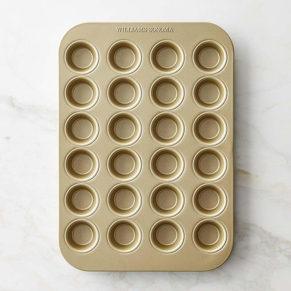 Williams Sonoma Goldtouch Nonstick Mini Muffin Pan, 24-Well