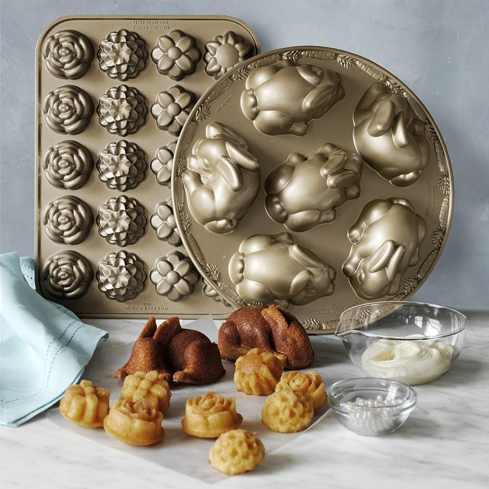 Nordic Ware Flower Petits Fours Pan Williams Sonoma Au
