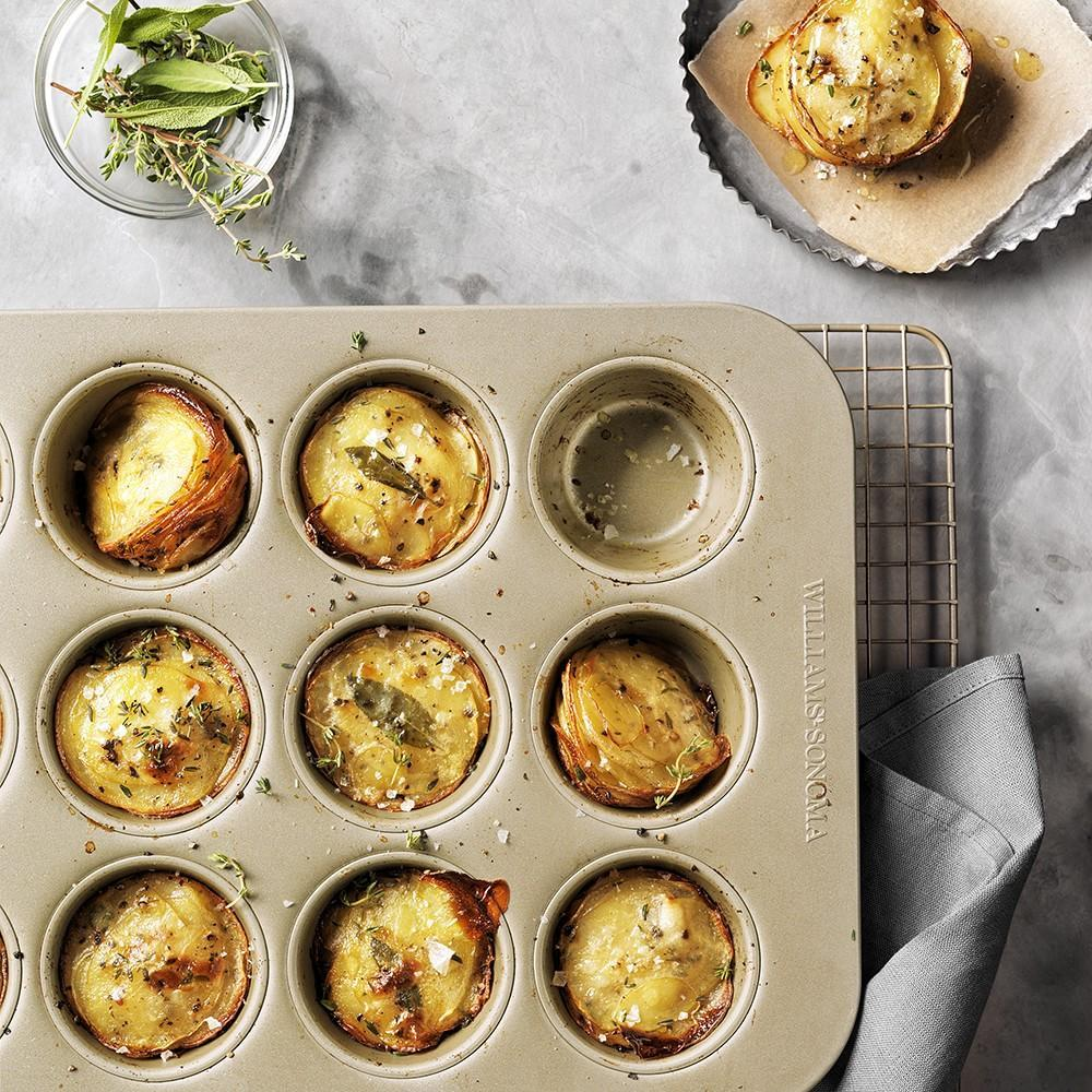 Williams Sonoma Goldtouch® Nonstick Muffin Pan, 12-Well