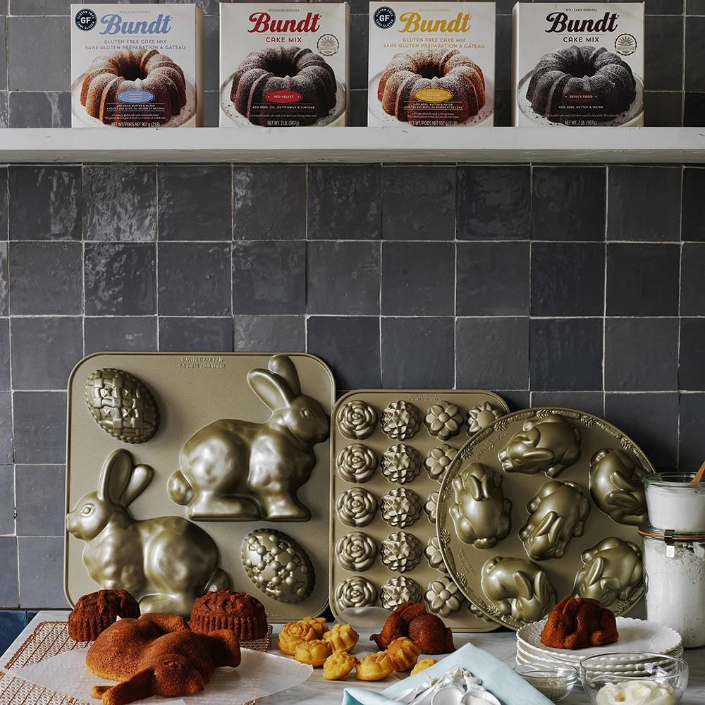 Nordic Ware Bunny Cake Pan With Egg Williams Sonoma Au