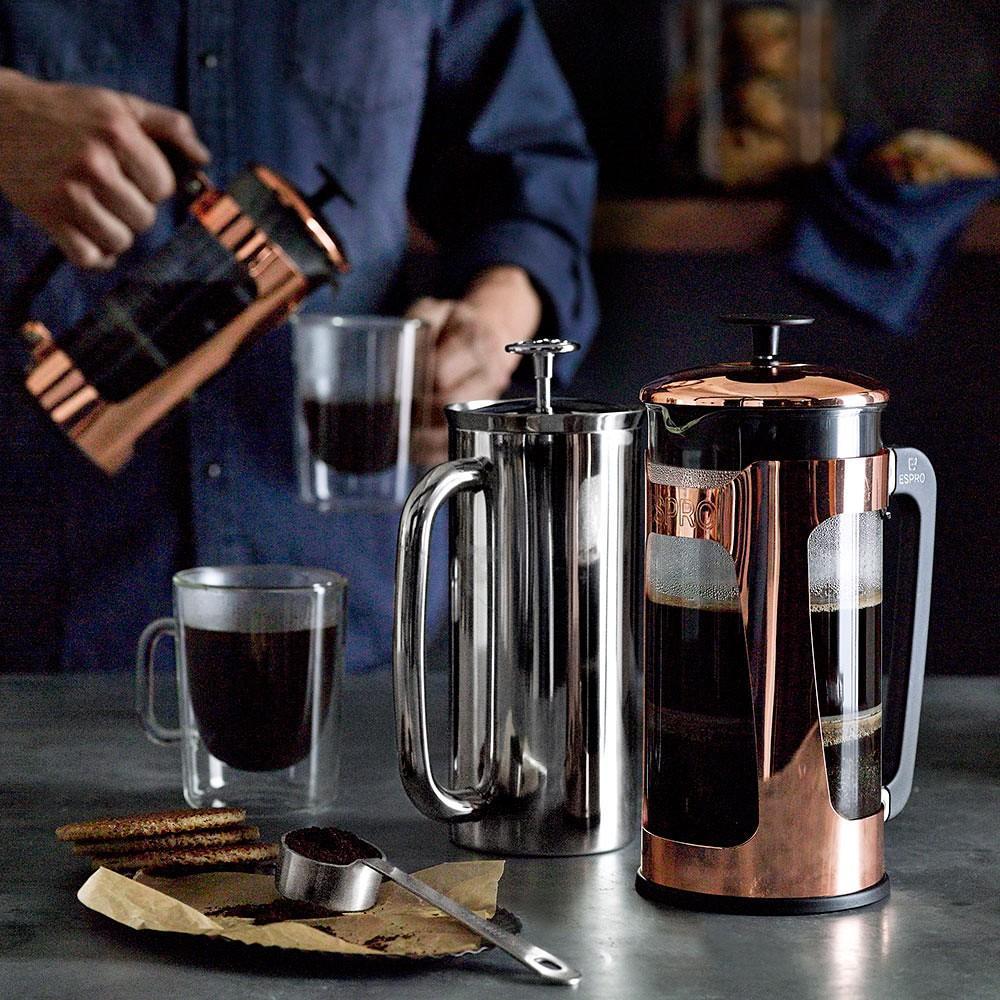 Espro P5 Glass French Press, Copper