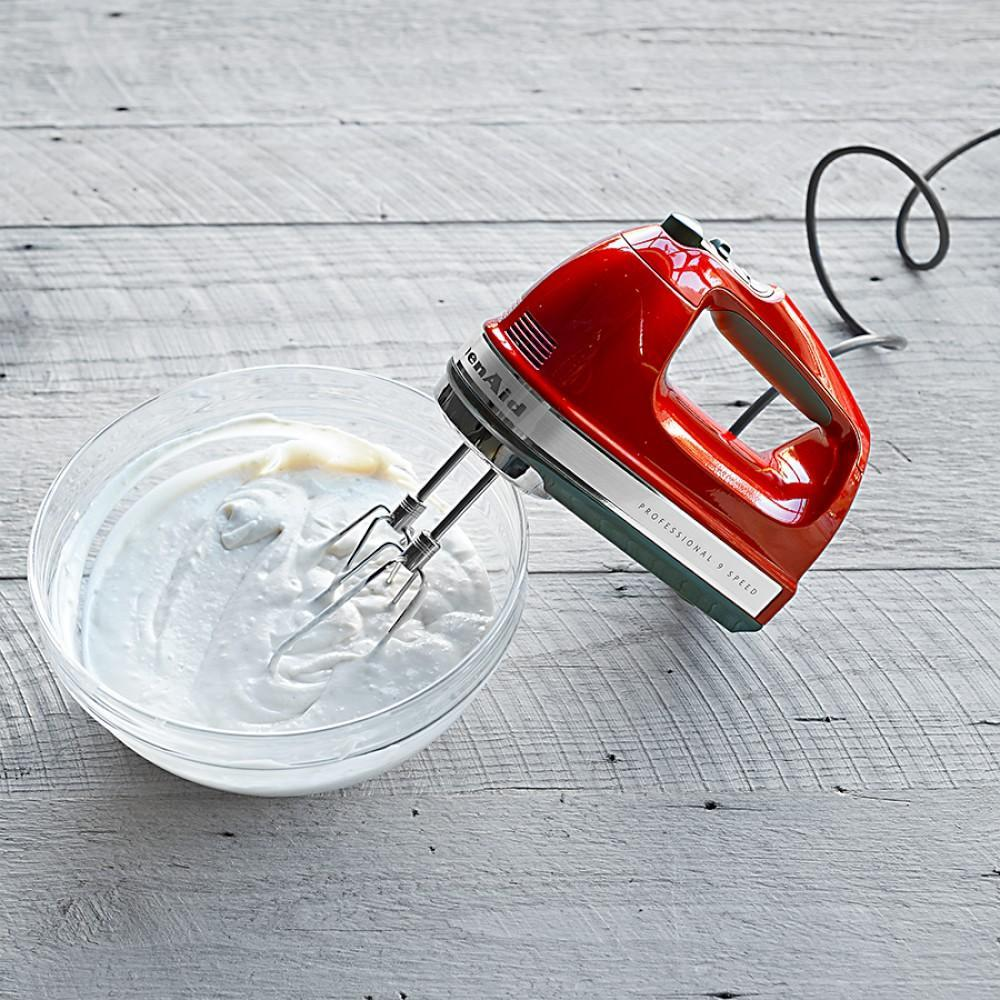 Kitchenaid 9 speed professional hand mixer -  Kitchenaid 9 Speed Professional Hand Mixer Empire Red