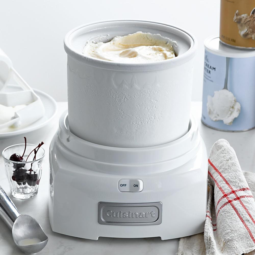Cuisinart Ice Cream Maker, White