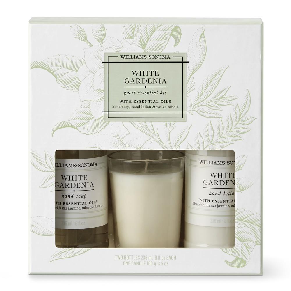 Williams Sonoma Guest Set, White Gardenia
