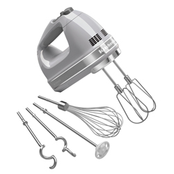 KitchenAid® 9-Speed Professional Hand Mixer, Contour Silver