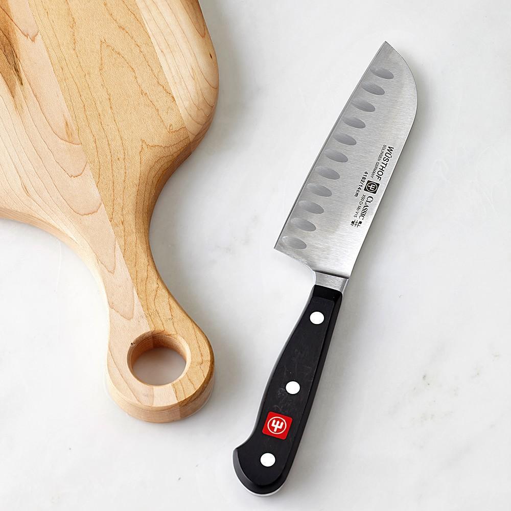 Wüsthof Classic Hollow-Ground Santoku Knife