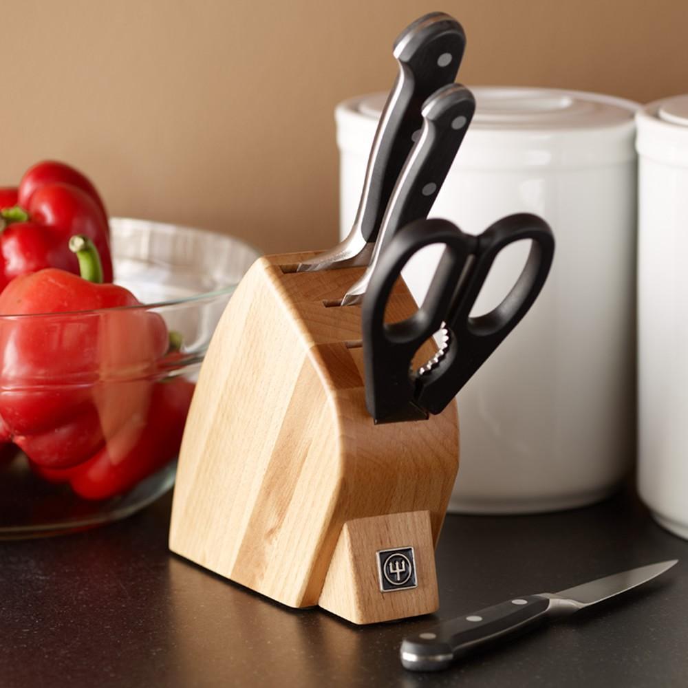 Wüsthof Classic Sous Chef 5-Piece Knife Block Set