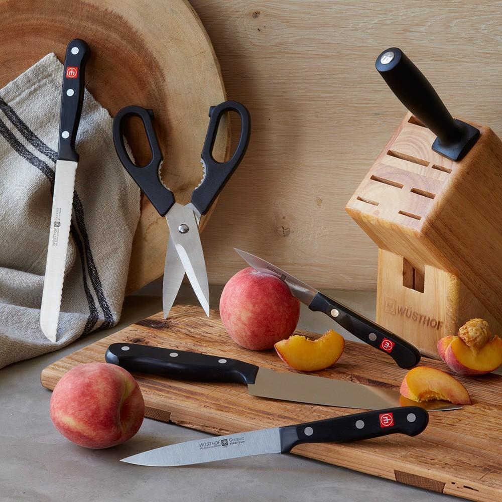 Wüsthof Gourmet 7-Piece Knife Block Set