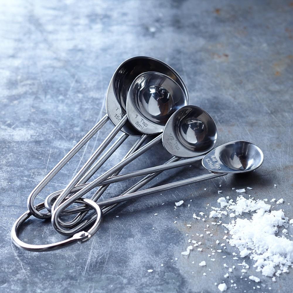 Williams-Sonoma Open Kitchen Stainless-Steel Measuring Spoons