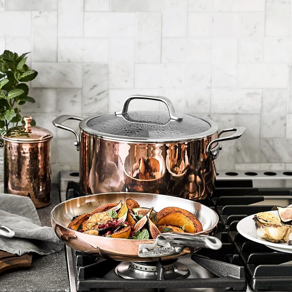 Williams Sonoma Professional Copper Frying Pan
