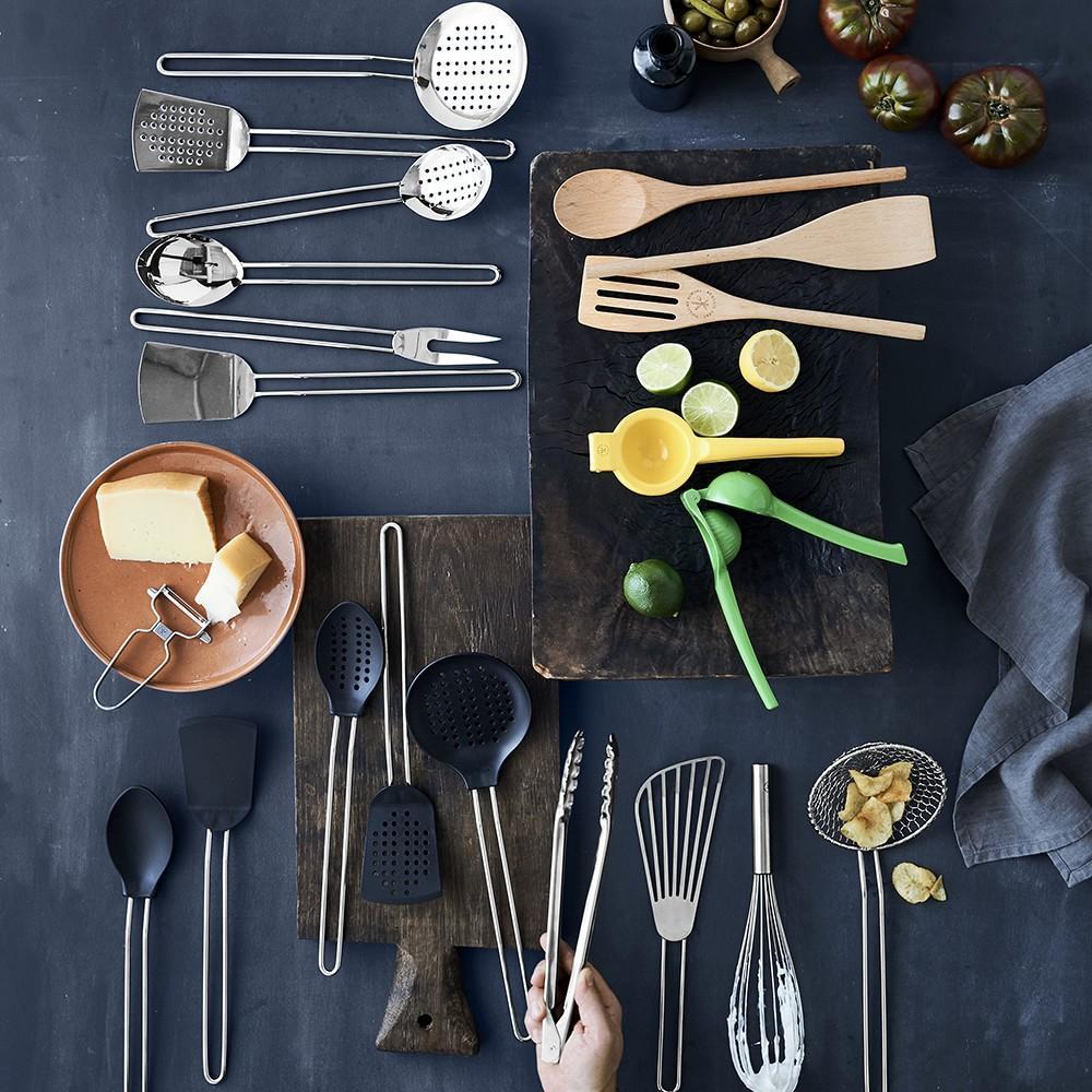 Williams Sonoma Open Kitchen Beechwood Long Spoon