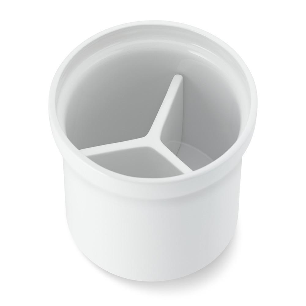 Ceramic Partitioned Utensil Holder