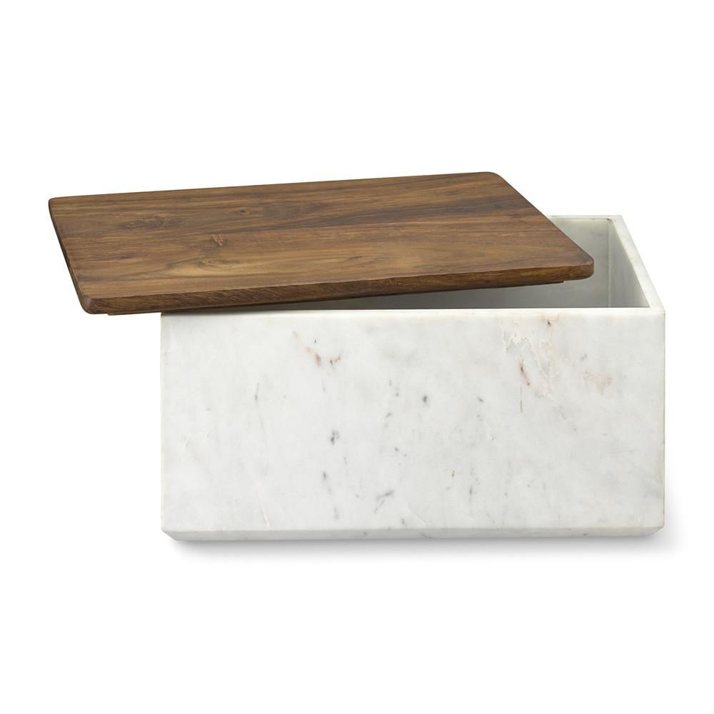 Marble Bread Box