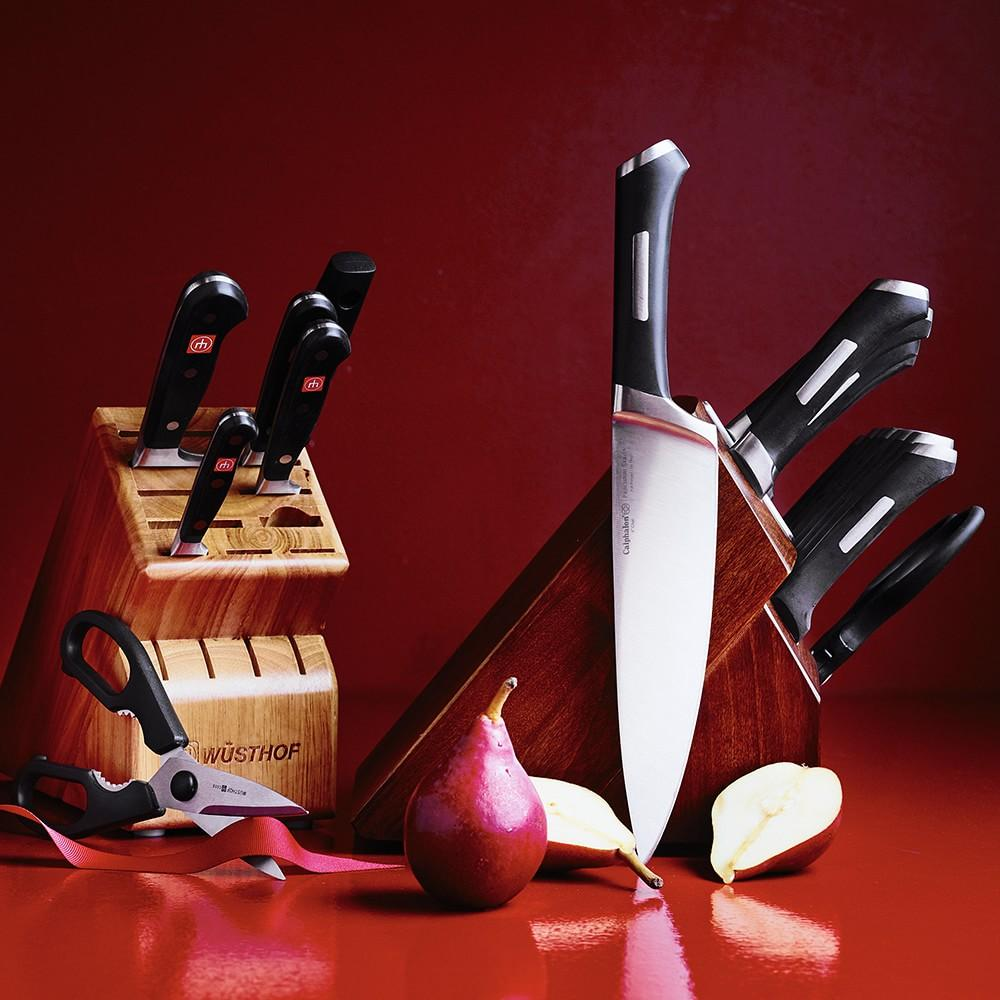 Wüsthof Classic 7-Piece Knife Block Set