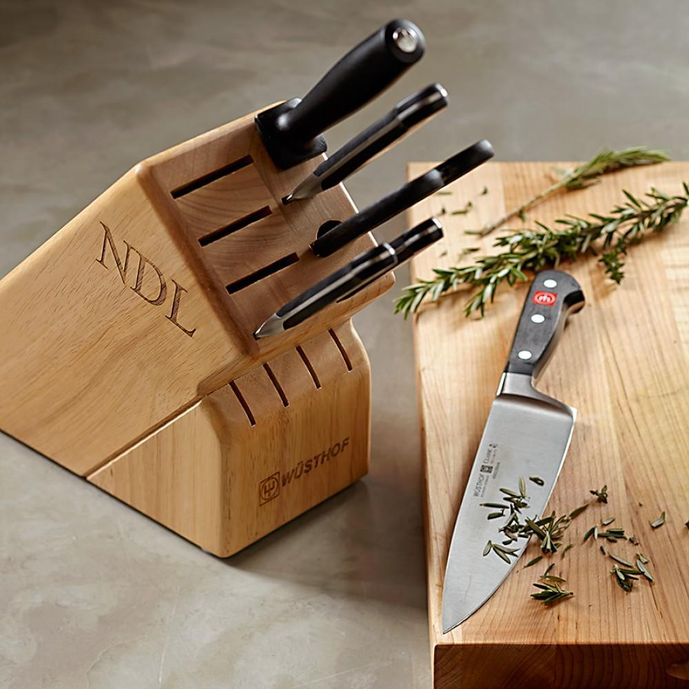 Wüsthof Classic 7-Piece Knife Block Set