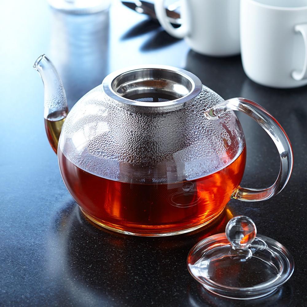Williams Sonoma Open Kitchen Glass Teapot