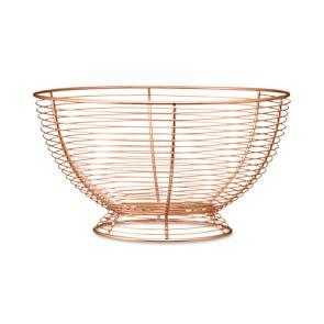 Copper Wire Fruit Basket