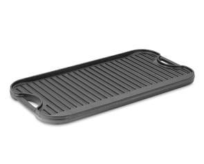Lodge Cast-Iron Double Burner Reversible Grill/Griddle