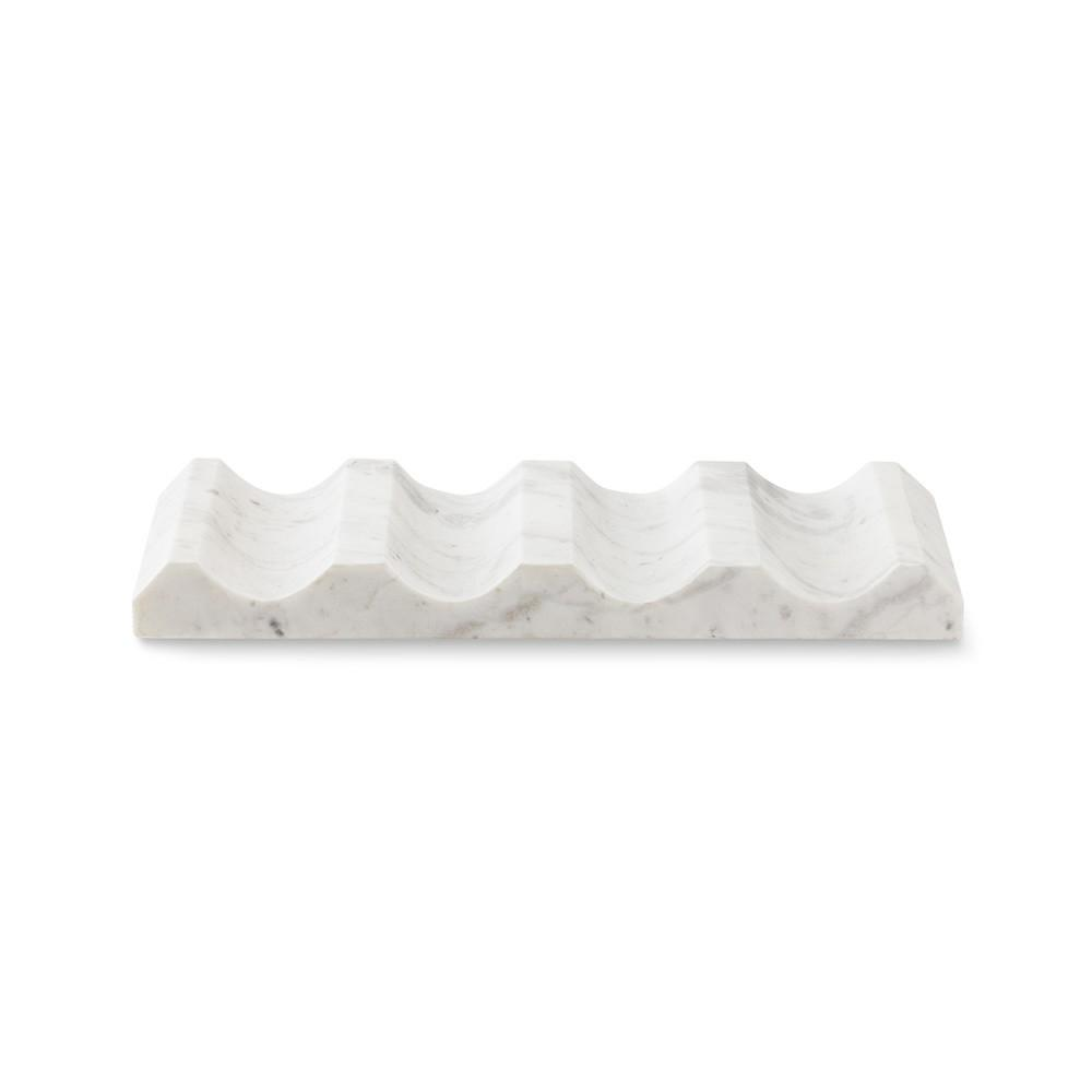 White Marble Wine Rack