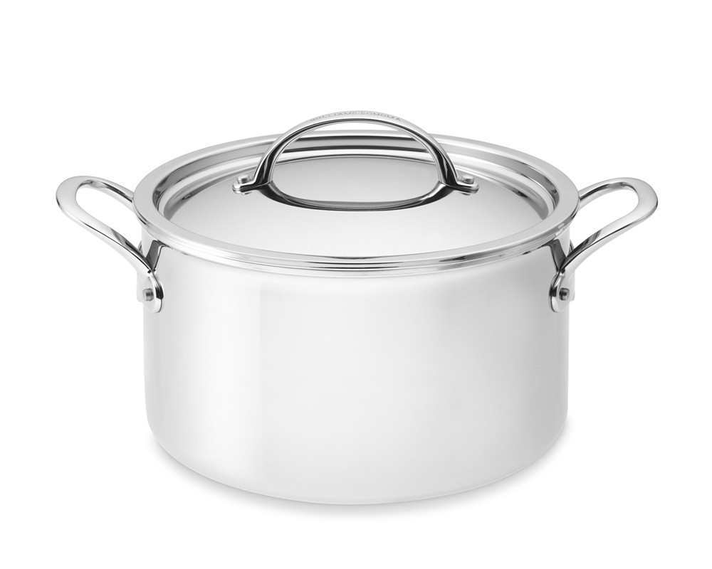 Williams Sonoma Thermo-Clad™ Stainless-Steel Casserole Pot