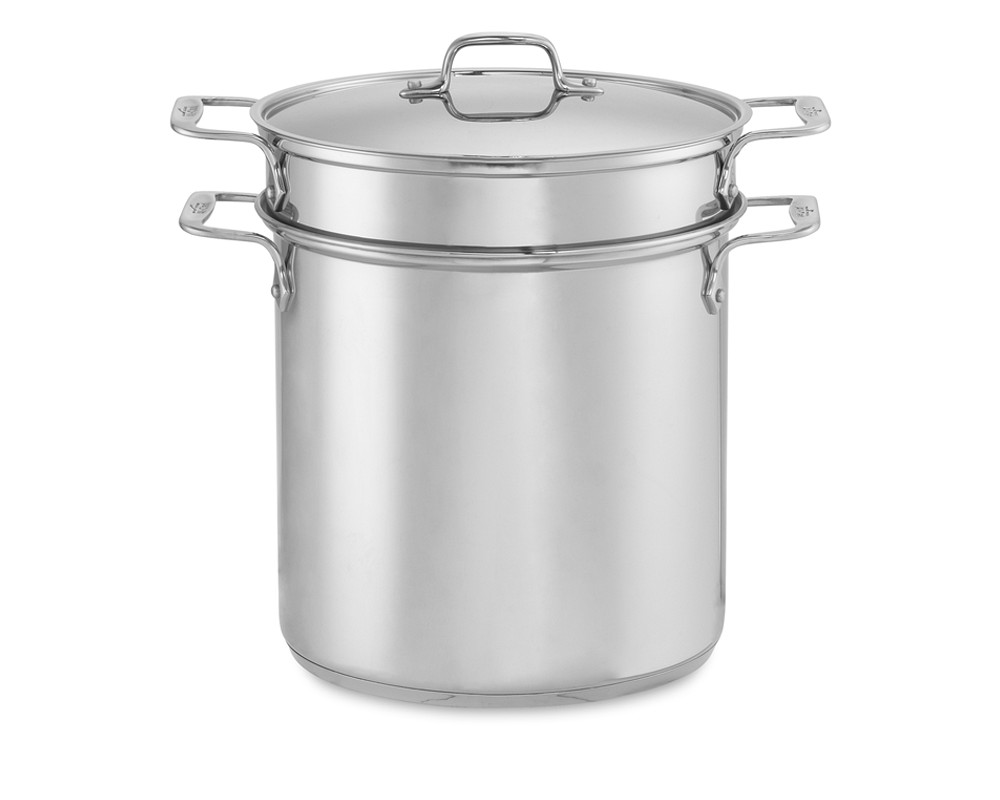 All-Clad Perforated Multipot with Steamer Basket, 12 L