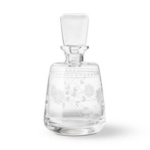 Vintage Etched Spirit Decanter