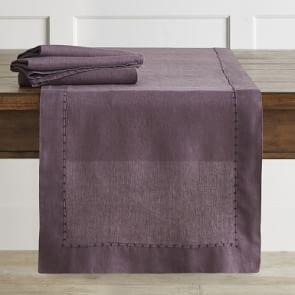Italian Washed Linen Table Runner