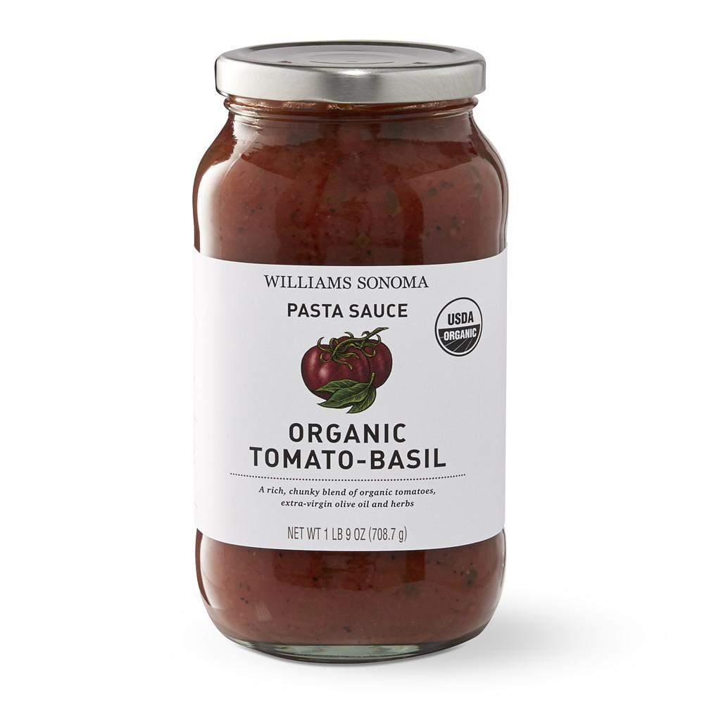 Williams Sonoma Organic Tomato Basil Pasta Sauce