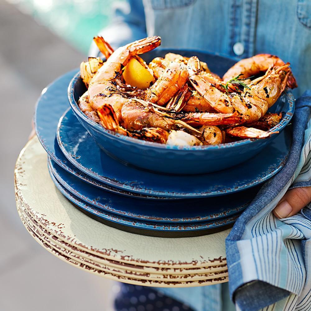 Rustic Outdoor Melamine Dinnerware Collection