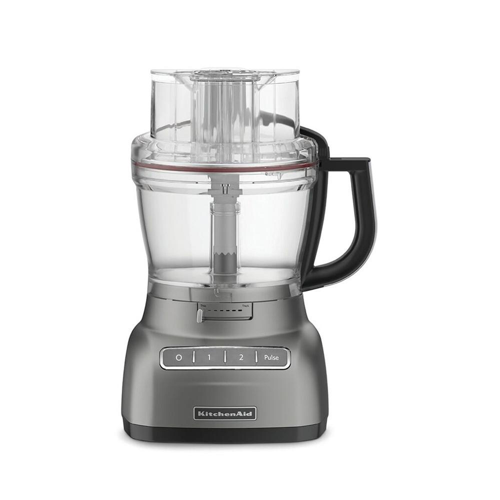 KitchenAid® Artisan Food Processor, Silver