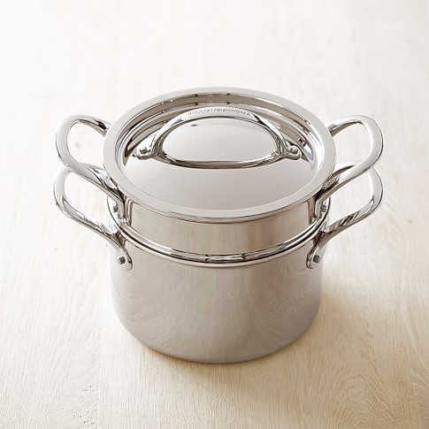 Williams Sonoma Thermo-Clad™ Stainless Steel Steamer w/Lid