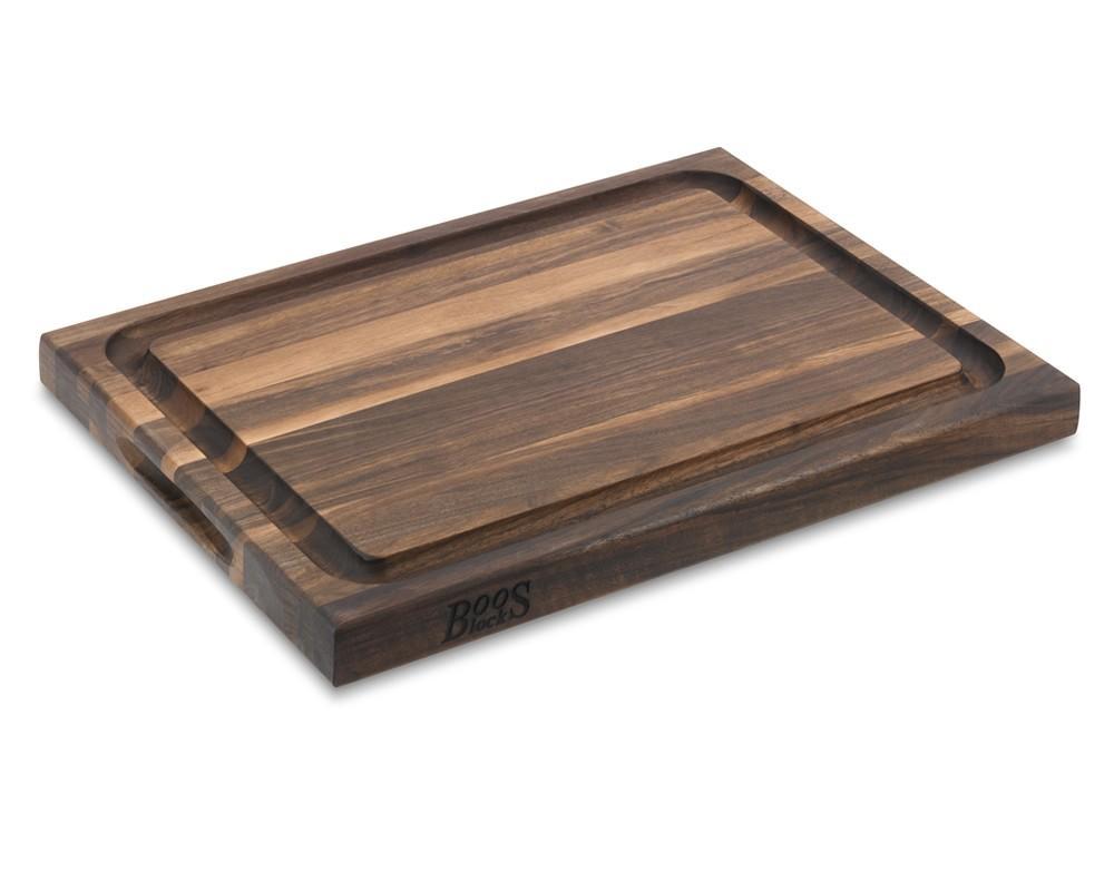 Boos Edge-Grain Carving Board, Walnut