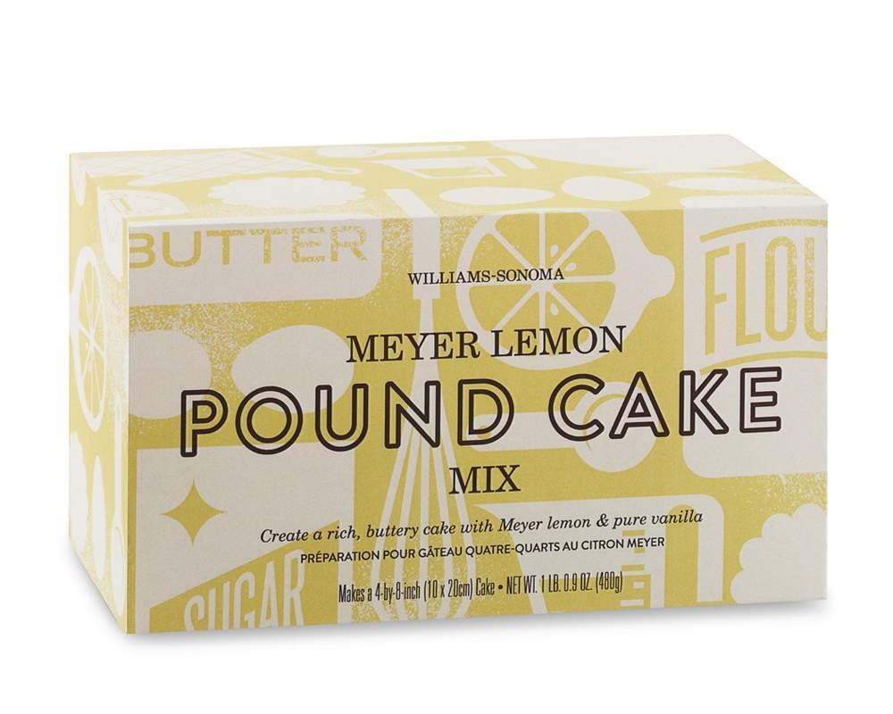 Williams Sonoma Pound Cake Mix, Meyer Lemon