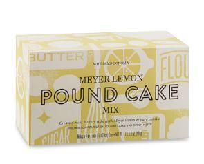 Williams Sonoma Pound Cake Mix, Meyer Lemon
