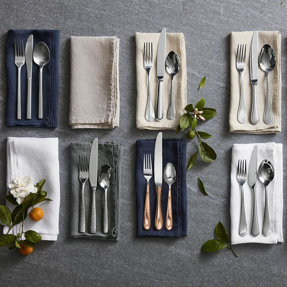 Lucca Faceted 5-Piece Cutlery Placesetting