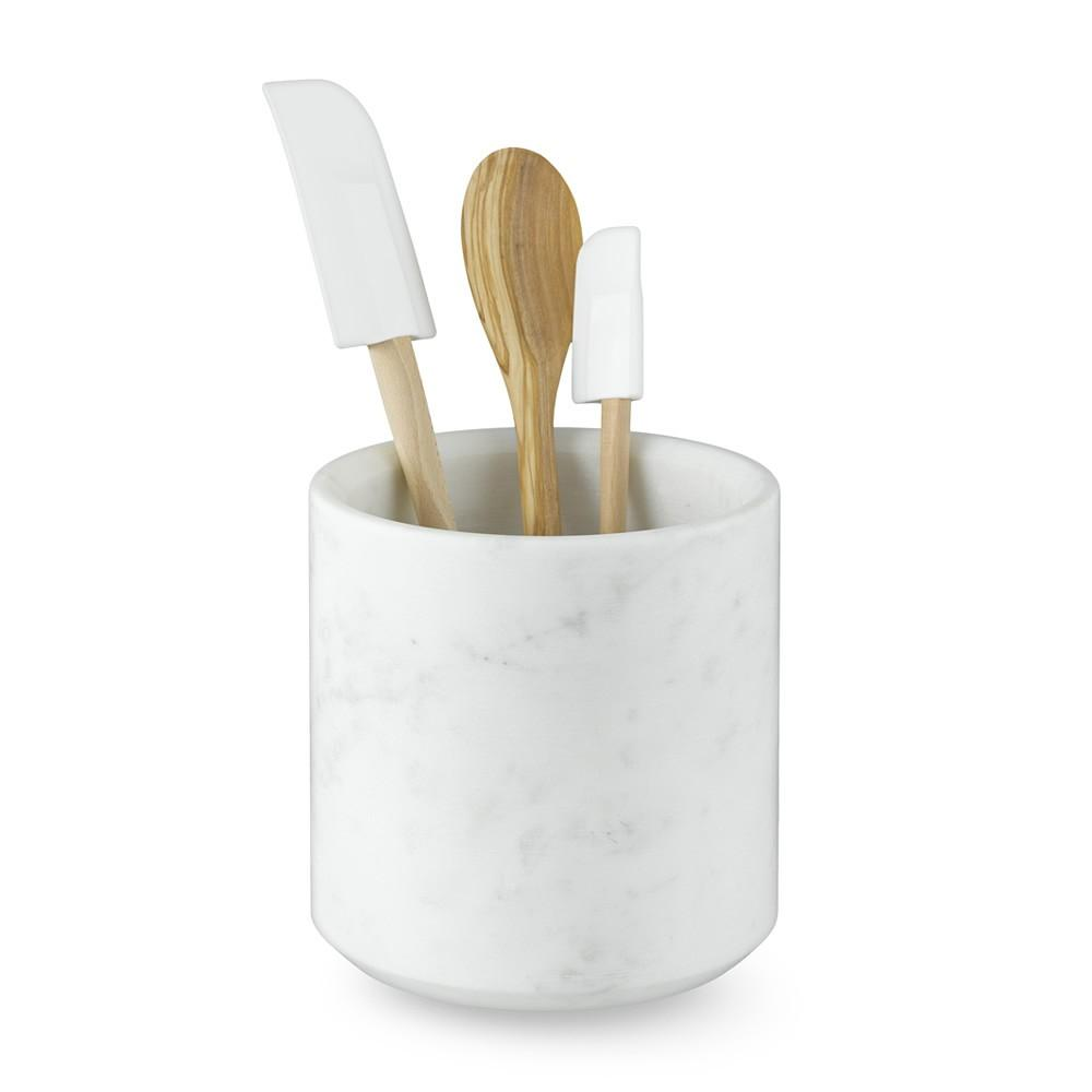 Williams Sonoma Marble Partitioned Utensil Holder