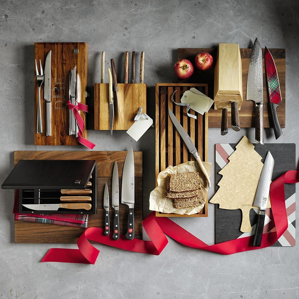 Wüsthof 6-Piece Steak Knife Set with Plum Wood Handles