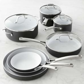 Calphalon Classic Ceramic Nonstick 11-Piece Cookware Set