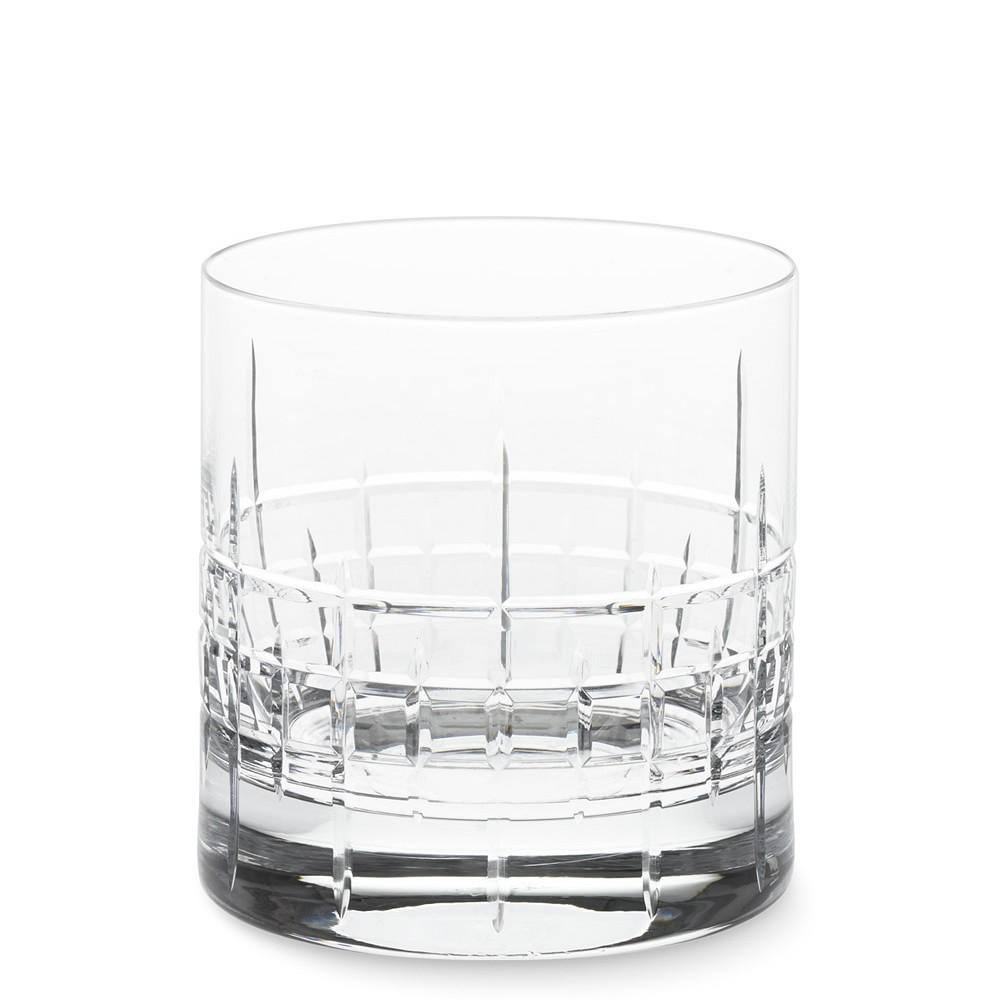 MacLean Cut Crystal Double Old-Fashioned Glasses