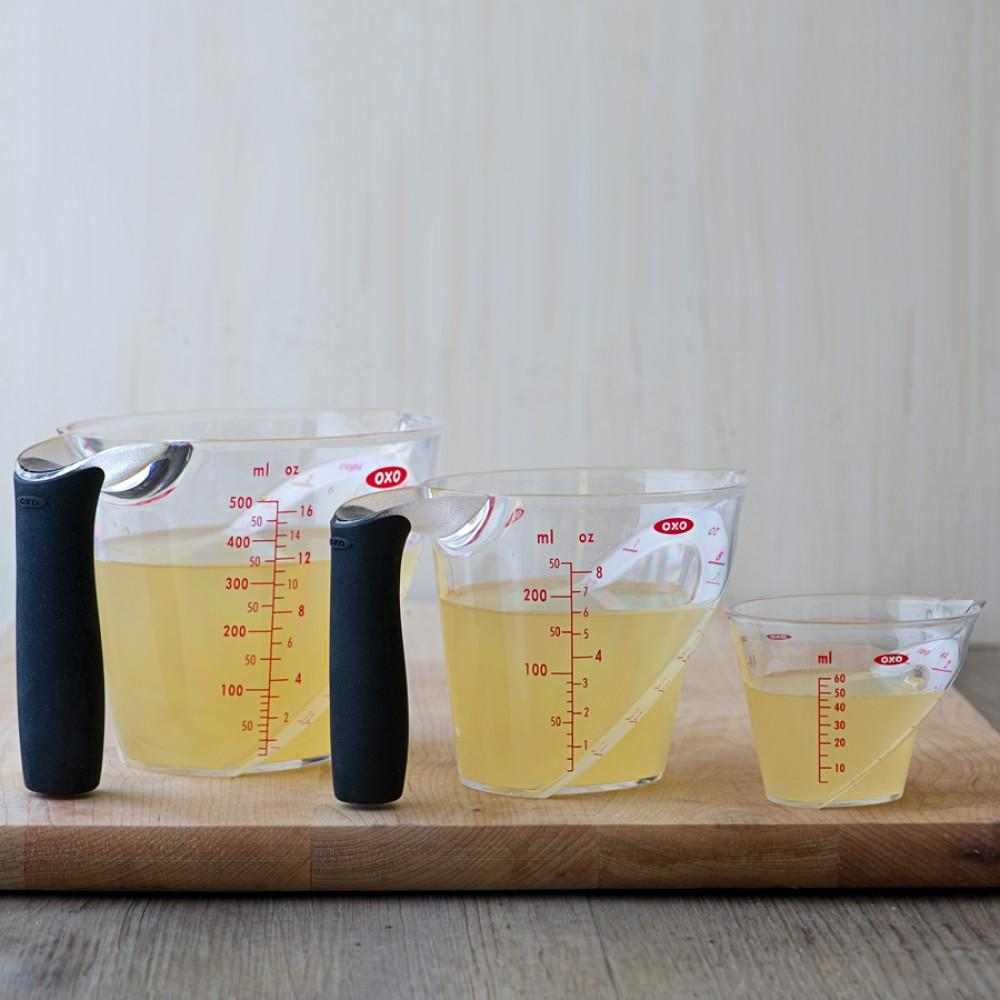OXO 3-Piece Angled Measuring Cup Set