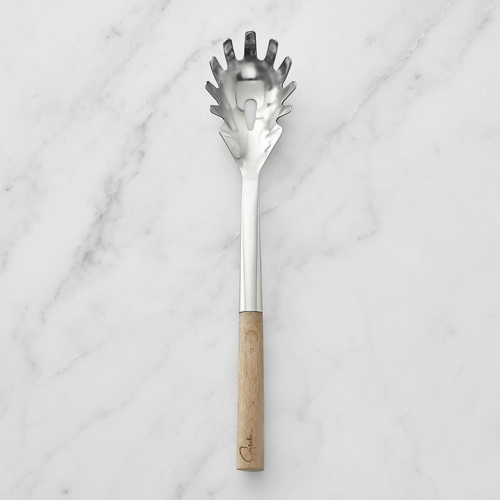 Giada Wood Handled Pasta Fork