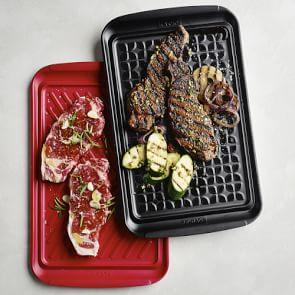 Barbecue Prep Trays, Set of 2