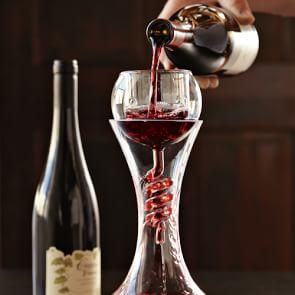Twister Wine Aerator & Decanter with Stand Set