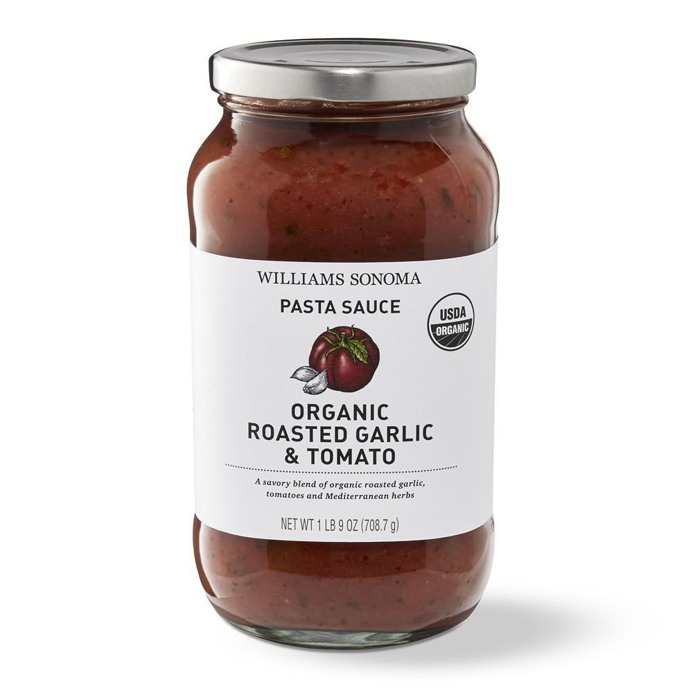 Williams Sonoma Organic Roasted Garlic Pasta Sauce