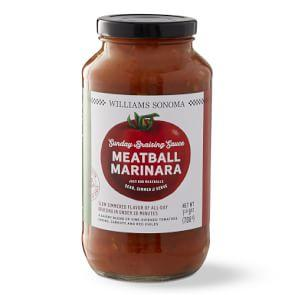 Williams Sonoma Sunday Braising Sauce, Meatball Marinara