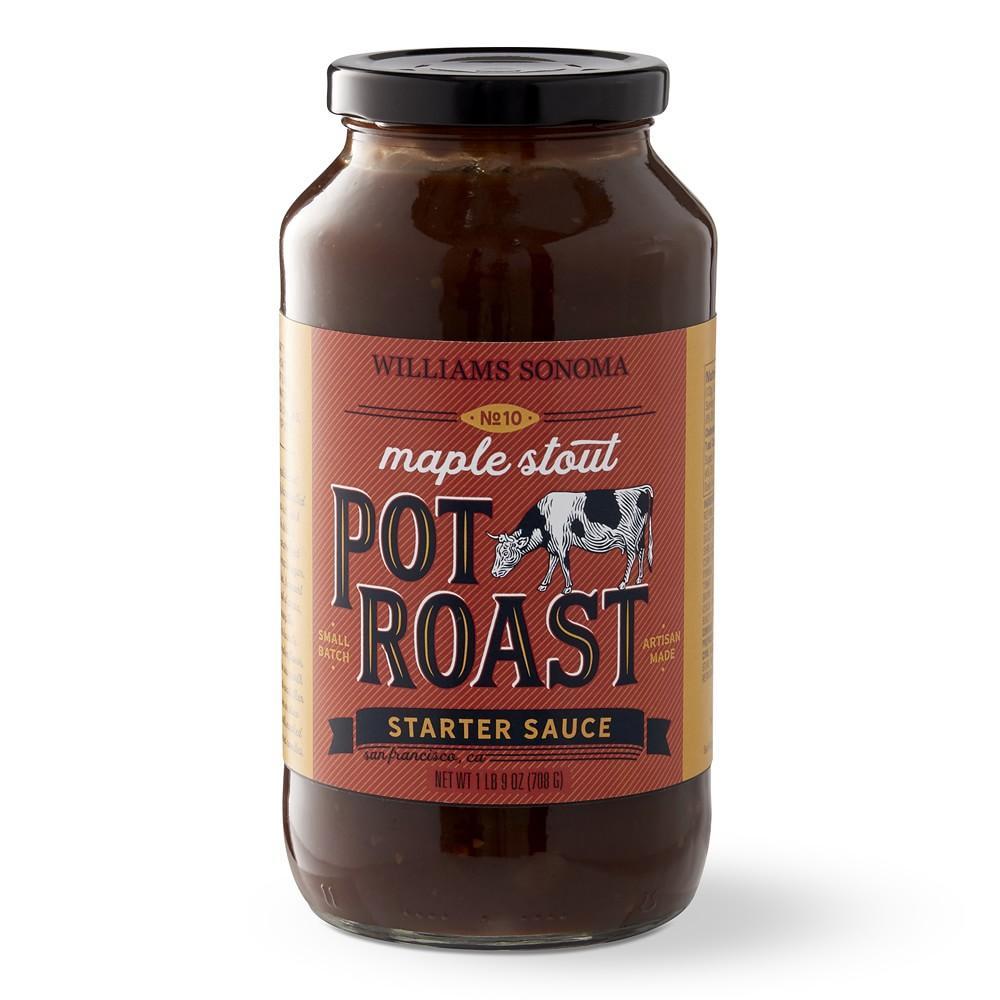 Williams Sonoma Braising Sauce, Maple Stout Pot Roast