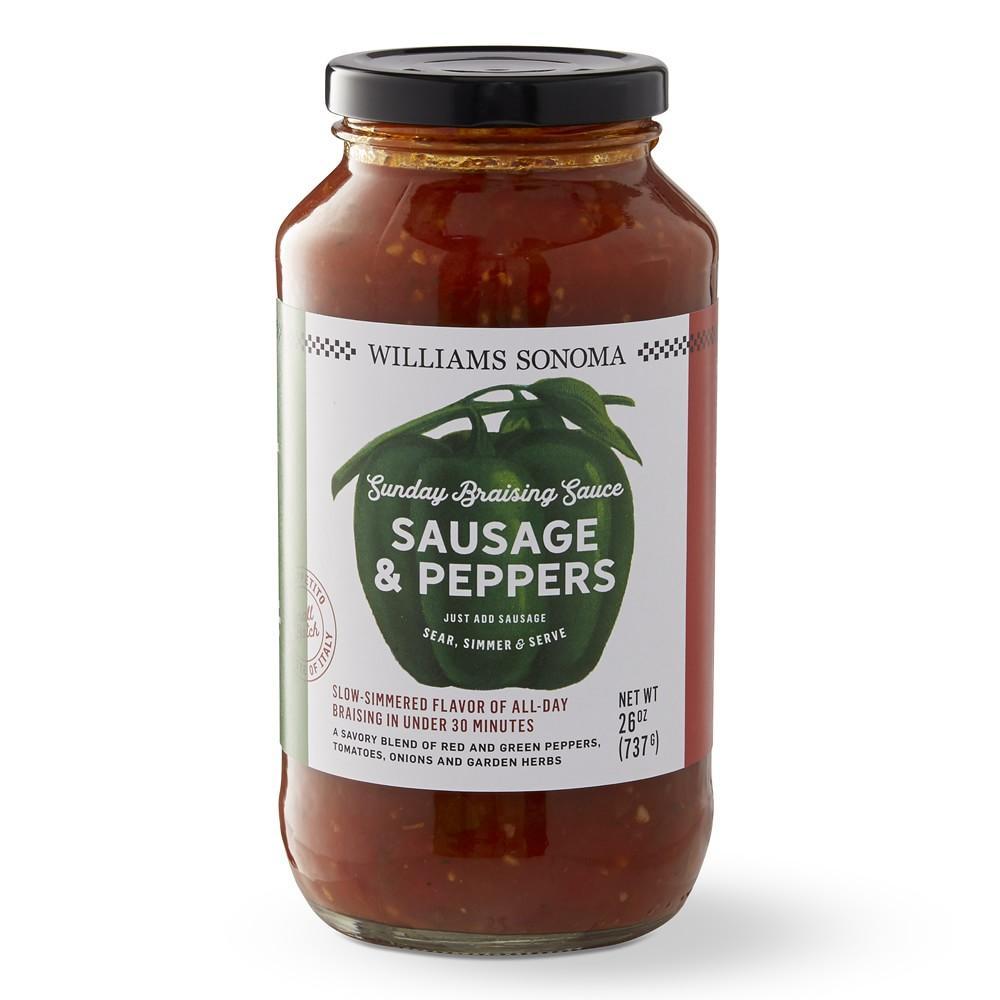 Williams Sonoma Sunday Braising Sauce, Italian Sausage