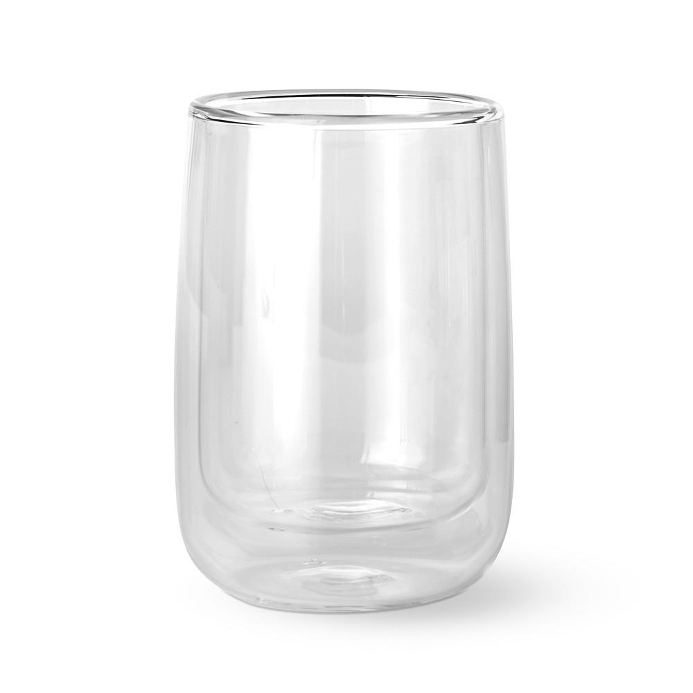 Double-Wall Glass Short Tumbler